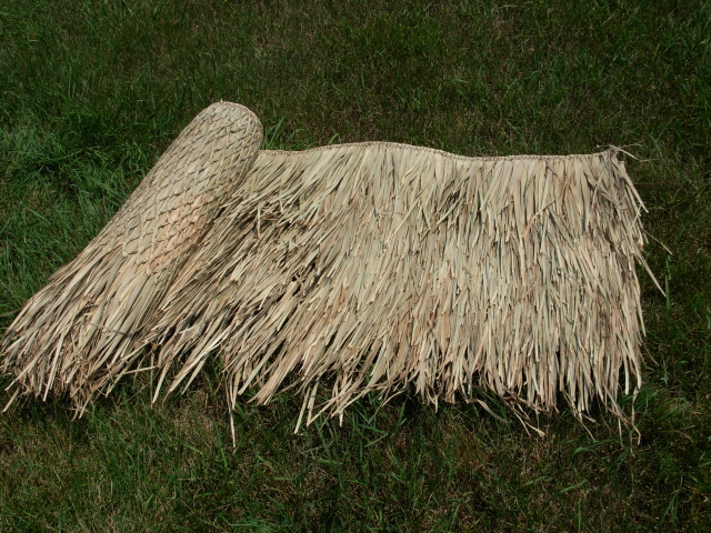 Thatch roofing bamboo toronto for Bamboo roofing materials